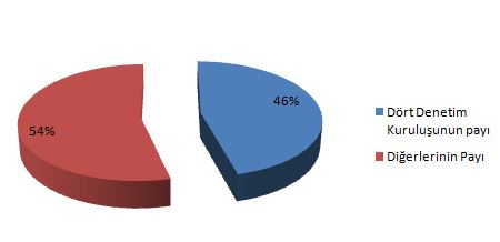 bağımsız denetim piyasası pay dağılım denetim kuruluşları