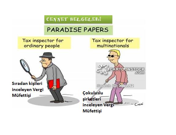 mali mizah vergi cennet belgeleri karikatür