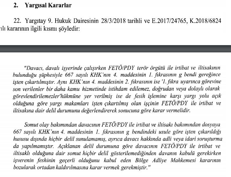 Yargıtay 9. Hukuk Dairesinin 28 03 2018 tarihli ve E.2017-24765, K.2018-6824 sayılı kararının.PNG
