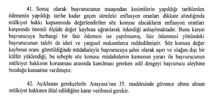 anayasa mahkemesi kararı geç ödenen maaş farkı gecikme faizi sonuç kısmı.JPG