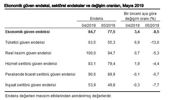 sektörel ekonomik güven endeksleri mayıs 2019.JPG